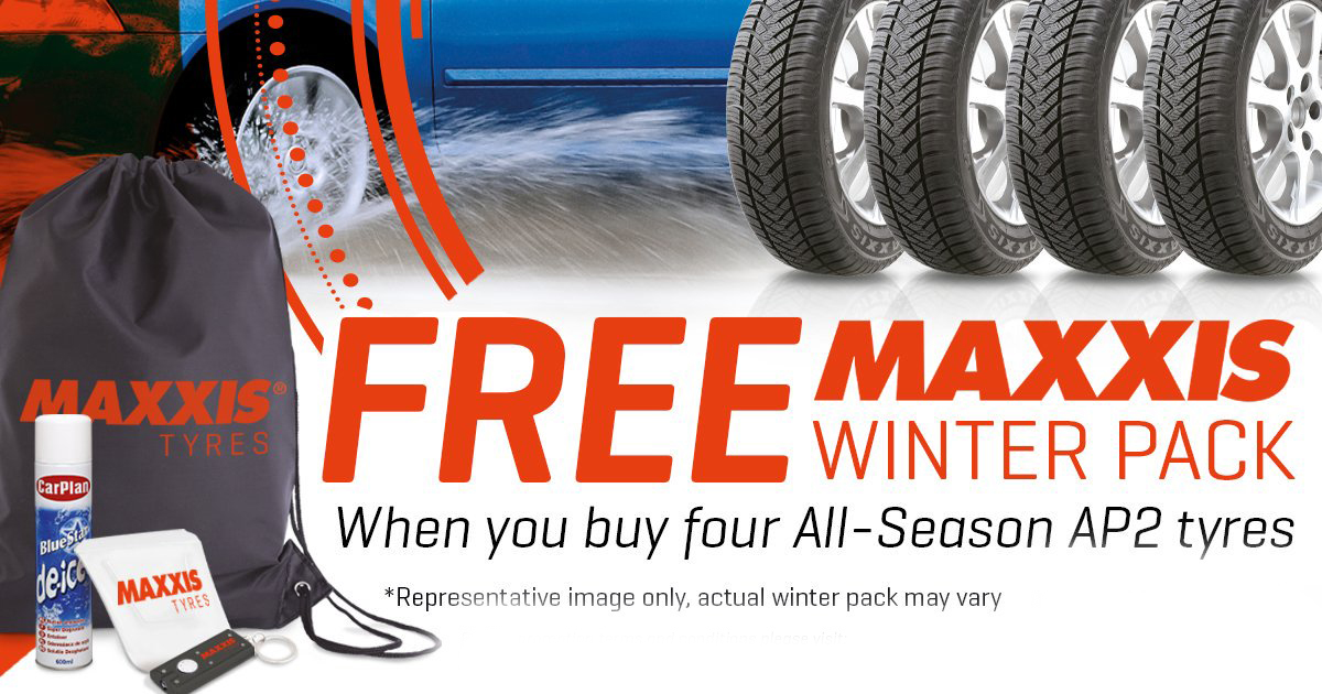 Maxxis Winter Pack Offer